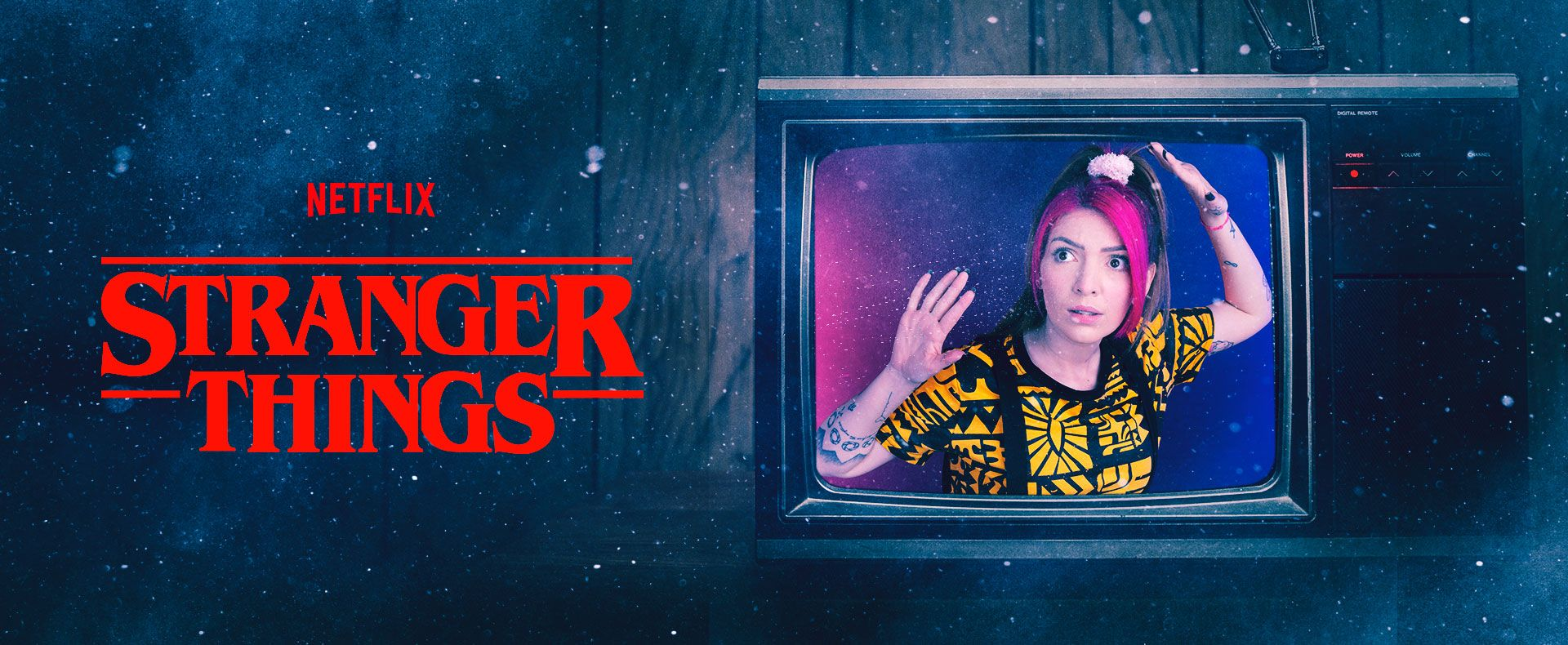 Banner - Stranger Things- Desktop