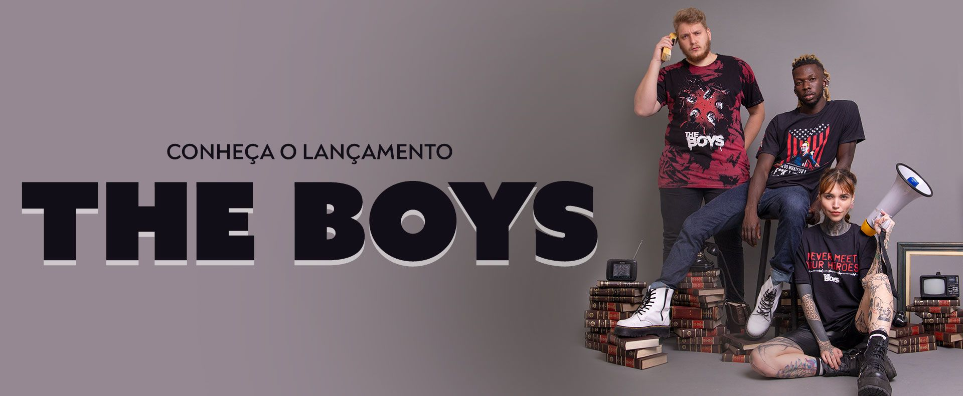 Banner - THE BOYS - Desktop