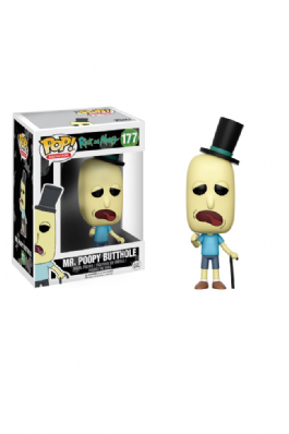 Funko Pop! Rick And Morty - Mr. Poopy Butthole