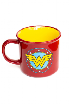 Caneca Wonder Woman Logo
