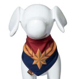 Bandana Pet Captain Marvel