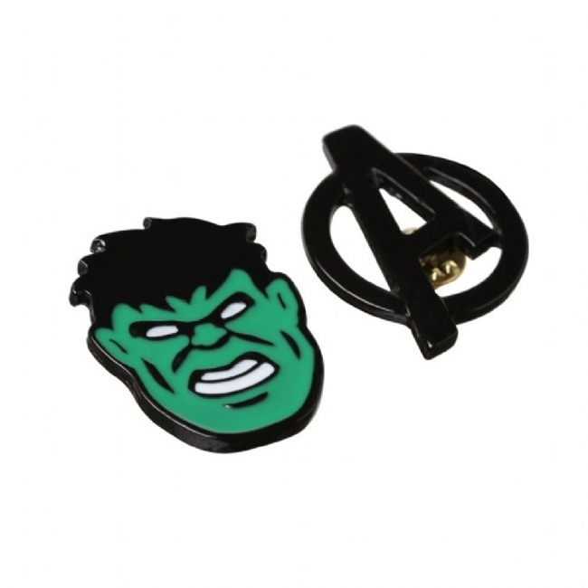 Kit 2 Pins Vingadores - Hulk