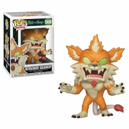 Funko Pop! Rick And Morty -  Berserker Squanchy