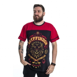 Camiseta Harry Potter Quadribol Grifinória