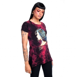 Camiseta Baby Look Long Wonder Woman 84