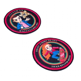 Kit 2 Patches Stranger Things - Eleven E Max