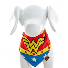 Bandana Pet Wonder Woman